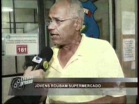 31-12-10 - PM detem 4 suspeitos de roubo em Senador Canedo.flv