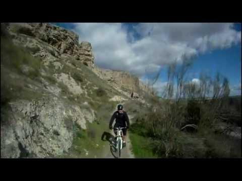 En bici con Alex en San Martin de la Vega 02_02_2013.avi