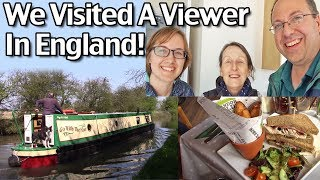 Subscribe to Living On A Dime on YouTube! http://bit.ly/1QDDmbNVisit Our Website: http://www.LivingOnADime.com/Free e-Mail Newsletter: http://bit.ly/1LfQf4yWe Visited A Viewer in England! Foxton Locks and Fardon FieldsIn April, Elly and I (Mike) took a father-daughter vacation holiday to the United Kingdom and Ireland. While in Britain, we took a side trip to visit a viewer and friend in Market Harborough, about an hour North of London. In this video we ahare what we did, including visiting the famous Foxton Locks and having a wonderful lunch at Farndon Fields!Quick And Easy Crepes Recipe! How To Make Homemade Crepes!http://www.livingonadime.com/quick-easy-homemade-crepes-recipe/Find all of our books, including our Dining On a Dime cookbook here:http://www.livingonadime.com/store/How To Save Money On Groceries e-Coursehttp://www.livingonadime.com/save-money-groceries-bill-ecourse/Today's show is part of The Homestead Networkhttp://www.thehomesteadnetwork.com/Get my How To Make Soap For Beginners e-Course here:http://www.livingonadime.com/how-to-make-soap-for-beginners/My Homemade Soap Channel - How to Make Soap On A Dimehttp://bit.ly/2m4nOSGBJ's YouTube Channelhttps://www.youtube.com/channel/UC_eboJJ346s-qIcysCTr3tAElly's YouTube Channelhttps://www.youtube.com/channel/UCcLi_6mgUNux0IqoADCd1aAFor More Easy Ideas, Visit Our Website: http://www.LivingOnADime.com/Our mailing address:Living On A DimeP.O. Box 193Mead, CO 80542You can send us an e-mail here:http://www.livingonadime.com/contact/**********************The equipment we use for our videosThe camera: for recipes: http://amzn.to/2azAcGZfor on the go shots: http://amzn.to/2amE3HKfor Live videos: http://amzn.to/2amDVs4The lights: http://amzn.to/2acLdM2The editing software:http://amzn.to/2aHsdYpThe computer: http://amzn.to/2ap7Ik2For Audio: http://amzn.to/2amF82cPlease note some of these links are affiliate links and we use them to bring you more recipes and tips! Thanks for your support! :-)________________________ OUR FREE NEWSLETTER!http://www.livingonadime.com/newsletter-signups/SUBSCRIBE TO OUR YOUTUBE CHANNEL!http://www.youtube.com/subscription_center?add_user=mkellam2OUR FACEBOOK! https://www.facebook.com/livingonadimeOUR PINTEREST! https://www.pinterest.com/livingonadime/#foxtonlocks#foxtonlockscountrypark#foxtonholidaypark#farndonfields#farndonfieldsmarketharborough#staircaselocks#marketharboroughcanal#thingstodonearleicestershire#foxtonboatlift#foxtonlocksleicester#grandunioncanal