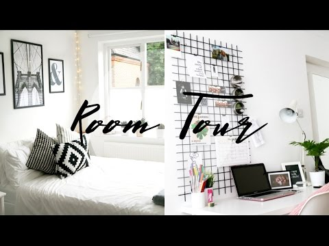 ROOM TOUR | minimal, simple & monochrome