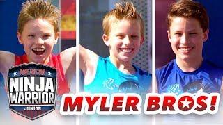 Video Myler Brothers NINJA COURSE SHOWDOWN (Ninja Kidz TV)   American Ninja Warrior Junior MP3, 3GP, MP4, WEBM, AVI, FLV Juni 2019