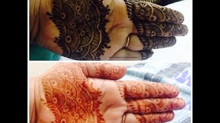 How To Henna Strip | DIY intricate easy henna Mehndi tattoo design - YouTube