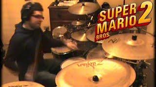 Video Vadrum Meets Super Mario Bros 2 (Drum Video) MP3, 3GP, MP4, WEBM, AVI, FLV Agustus 2017