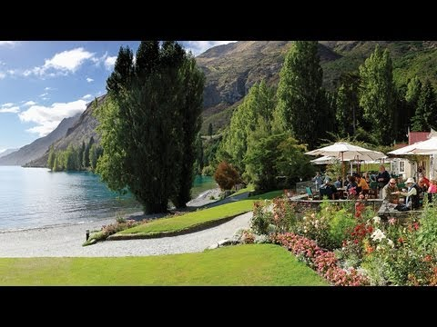 New Zealand (Country) - Cruise on board the vintage steamship TSS Earnslaw in Queenstown, New Zealand. View stunning alpine scenery and visit Walter Peak High Country Farm, beautifu...