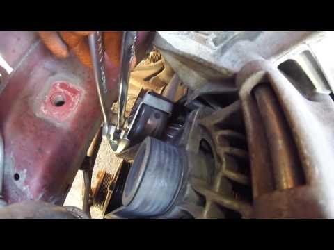 Как натянуть приводной ремень форд фокус 2 фотка