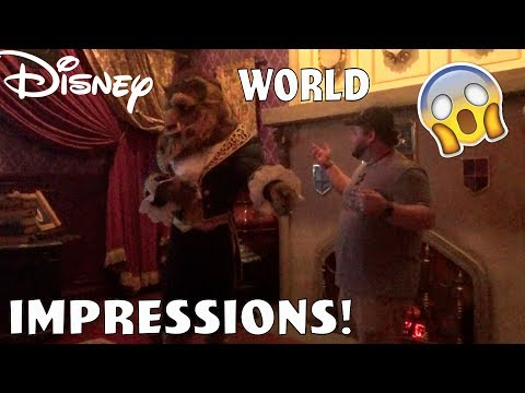 THE BEAST RECOGNIZED ME! - Disney World impressions
