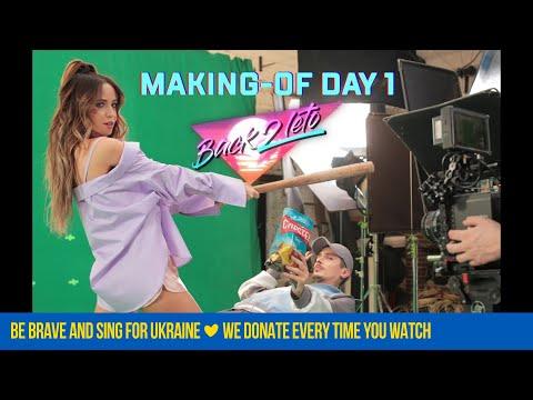 Время и Стекло - Back2Leto (Making-of Day 1) (видео)