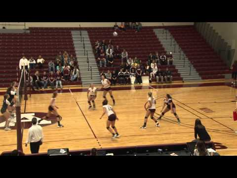 Alma College Volleyball vs Saint Mary's College - October 18, 2011