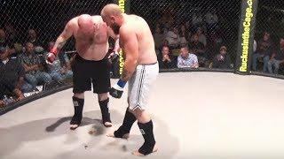 Nie ma to jak zesr*ć się podczas walki MMA…
