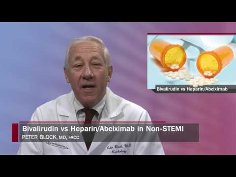 Heart Minute | Bivalirudin vs Heparin ISAR REACT 4