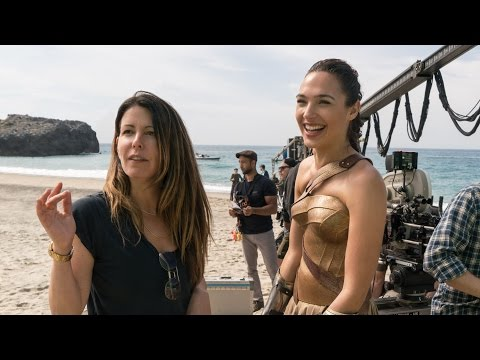 Behind The Scenes On Wonder Woman (2017) + Movie Clips (видео)