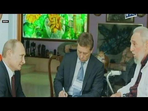 Πούτιν για Φιντέλ: «Σύμβολο μιας ολόκληρης εποχής»