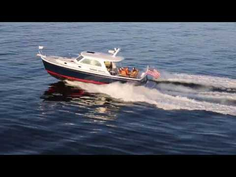 Back Cove Downeast 37video