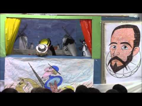 Don Quijote un teatro con títeres