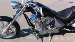 6. 2010 Honda Fury Customized