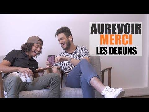 LES DEGUNS - AUREVOIR MERCI (видео)
