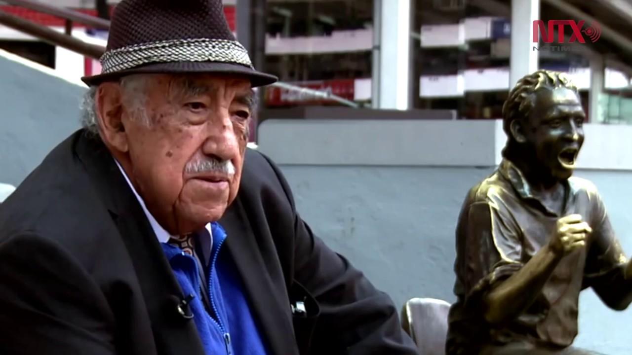 A los 90 años fallece Melquiades Sánchez, la voz del estadio Azteca