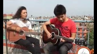Shanti Bityo - Sunil Shakya - Latest Nepali Acoustic Song 2014