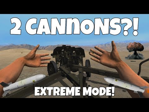 ARTILLERY ROUND ON EXTREME MODE! - Hand Simulator