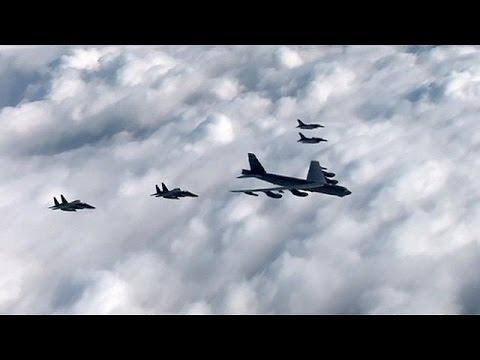 Επίδειξη δύναμης των ΗΠΑ μετά την τέταρτη πυρηνική δοκιμή της Β. Κορεάς