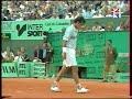 Pioline サフィン 全仏オープン 1998 (3/6)