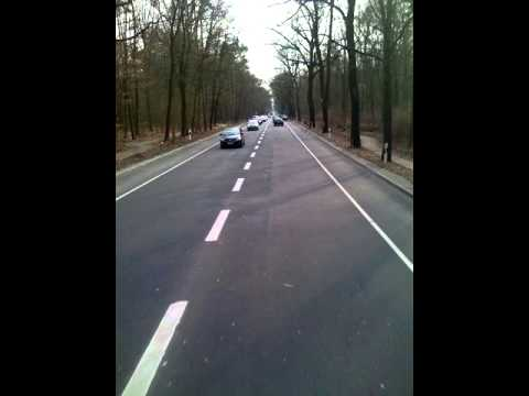 2011-03-15 Busfahrt von Holzhauser Strasse nach Haselhorst (Berlin,Deutschland)