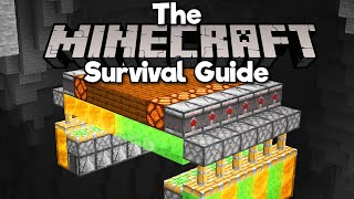 Vertical Redstone Flying Machines!• The Minecraft Survival Guide (Tutorial Let's Play) [Part 286]