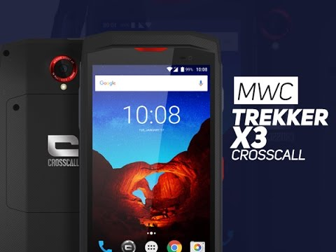 TREKKER-X3 : Le smartphone résistant à la française (Crosscall)
