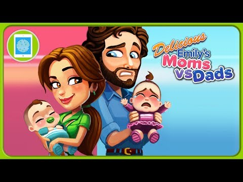 Мамы против пап в игре Delicious - Moms vs Dads от GameHouse * iOS | Android летсплей