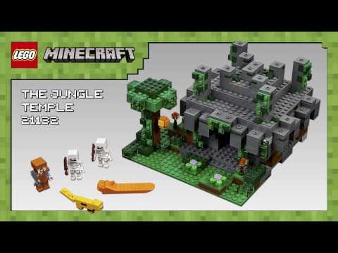 The Jungle Temple 21132 - LEGO Minecraft - Model Presentation