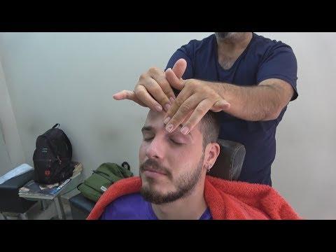 ASMR Turkish Barber Face,Head and Body Massage 142 💆♂️👍💈