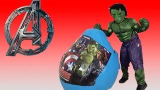 NEW AVENGERS 2015 SURPRISE EGGS | Hulk, Captain America, Iron Man, Thor | Toy Unboxing Videos