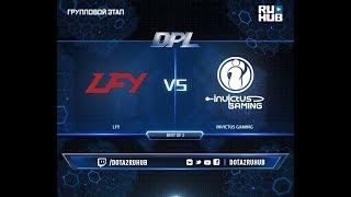 LFY vs Invictus Gaming, DPL 2018, game 2 [Adekvat, Smile]