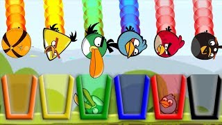 Video Angry Birds Drink Water 2 - TAKE ALL DIFFERENT BIRDS TO RAINBOW CUP OF WATER!! MP3, 3GP, MP4, WEBM, AVI, FLV Januari 2019