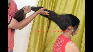 Urvashi Passionate Long Hair Play ,Smelling by Man