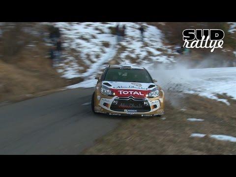 Test Rallye Monte Carlo 2015 - Kris Meeke (DS3 WRC) (HD)