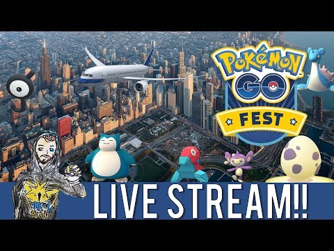 POKÉMON GO FEST IS A BUST! LET'S CATCH UNOWN ANYWAY!