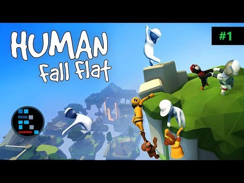 [Hindi] HUMAN: FALL FLAT | FUNNIEST GAME EVER (PART-1)
