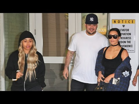 Blac Chyna Is Coy When Asked If She Saw Sonogram With Kim And Rob Kardashian