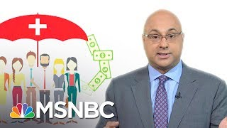 "From ""Obamacare"" to ""Trumpcare,"" the one health overhaul U.S. lawmakers won't consider is universal coverage.  Ali Velshi explains what Americans are missing out on.» Subscribe to MSNBC: http://on.msnbc.com/SubscribeTomsnbcAbout: MSNBC is the premier destination for in-depth analysis of daily headlines, insightful political commentary and informed perspectives. Reaching more than 95 million households worldwide, MSNBC offers a full schedule of live news coverage, political opinions and award-winning documentary programming -- 24 hours a day, 7 days a week.Connect with MSNBC OnlineVisit msnbc.com: http://on.msnbc.com/ReadmsnbcFind MSNBC on Facebook: http://on.msnbc.com/LikemsnbcFollow MSNBC on Twitter: http://on.msnbc.com/FollowmsnbcFollow MSNBC on Google+: http://on.msnbc.com/PlusmsnbcFollow MSNBC on Instagram: http://on.msnbc.com/InstamsnbcFollow MSNBC on Tumblr: http://on.msnbc.com/LeanWithmsnbcFor Facts Sake:  Universal Health Care  Velshi & Ruhle  MSNBC"