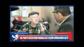 AK Parti Veliefendi Seçim Bürosunun açılışı 1