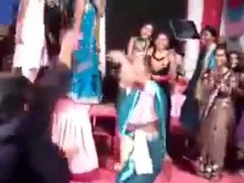 Indian Granny Dancing On Gangnam Style