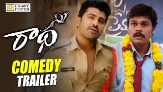 Radha Movie Comedy Trailer || Sharwanand, Sapthagiri, Ali, Lavanya - Filmyfocus.com