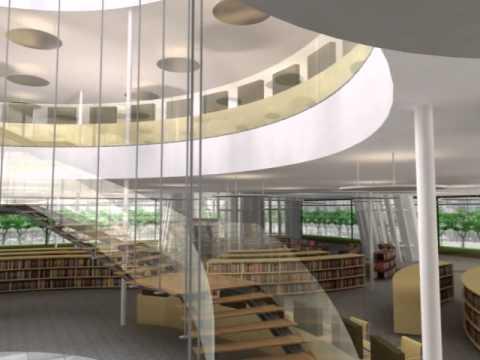 高市圖新總館3D動畫