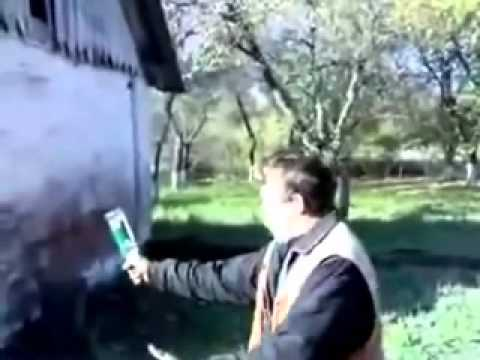FAIL Funny Drunk Russian Man Breaks Bottle over Head Tosh.0