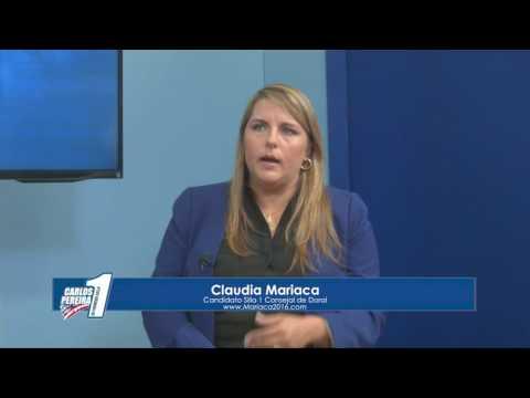 Entrevista a Claudia Mariaca – En Primera Silla 26-11-2016 Seg. 03