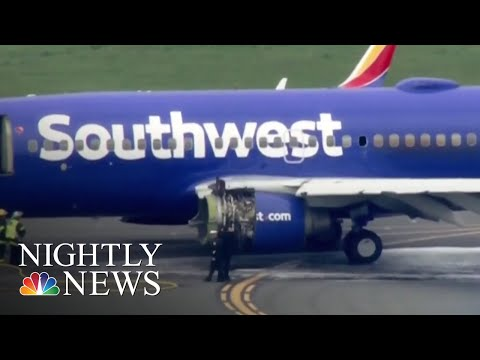 Southwest Airlines Cancels Dozens Of Flights For Inspections After Explosion | NBC Nightly News
