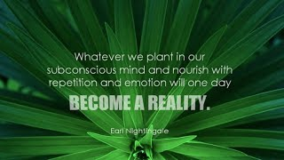 The Strangest Secret by Earl Nightingale (Law of Attraction)