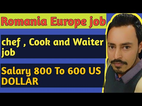 Romania Europe Cauntry Job Chef , Cook And Waiter Apply Now 2019.