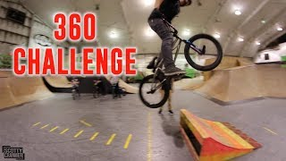 We have a challenge video today. We took out the rainbow kicker and big boy suggest we take the longest 180 contest up a notch! We are doing longest 360! Of course big boy suggested it and gets destroyed but that the fun part about it! Cory, Fede, BK, and Vinny all killed it for you guys so I hope you enjoy this one! MERCH LINK BELOW👇🏽👇🏽👇🏽👇🏽https://www.scottycranmerbmx.com